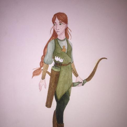 Half-Elf Girl