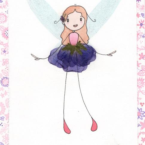 Purple Skirt Fairy
