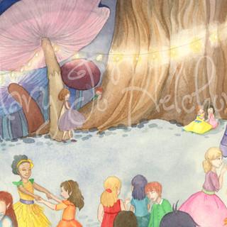 Mae Enters the Fairy Ball