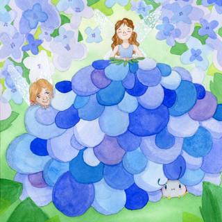 Beth's Blue Dress