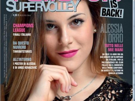 In edicola il secondo numero di Pallavolo Supervolley con la mia rubrica sulla Psicologia dello Spor