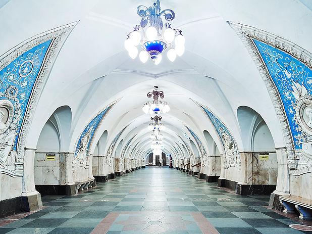 02 Taganskaya Station, Moscow Metro, Rus