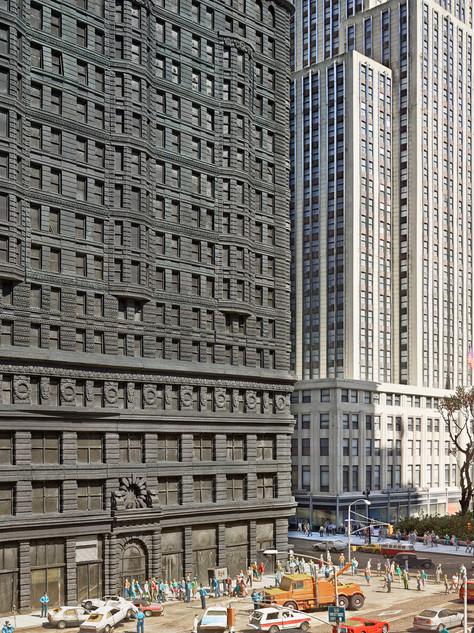 Flat Iron Building NYC,Nikkō, Tochigi, Japan, 2012