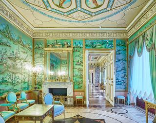 Green Room, Catherine Palace, Pushkin, Russia 2014