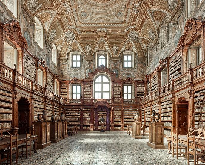 Library, Naples, Italy, 2016