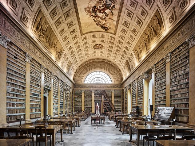 Library, Parma, Italy, 2016