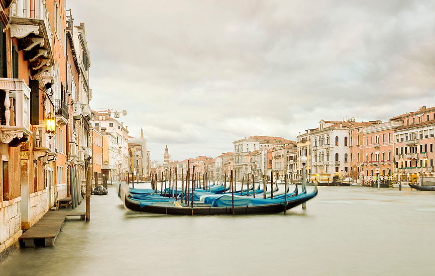 Gondola Station II, Grand Canal, Venice, IT