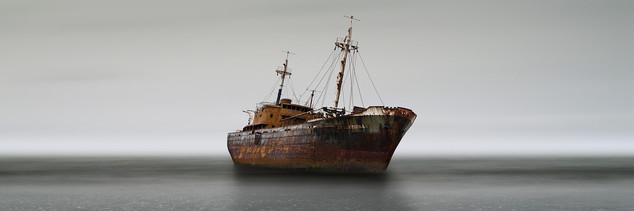 Grounded Ship, Cape San Pablo, Argentina 2007
