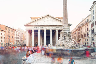Pantheon (exterior), Rome, Italy, 2018