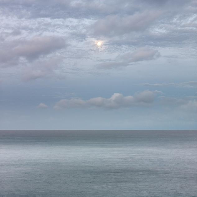 Setting Moon, Maui Hawaii, 2011