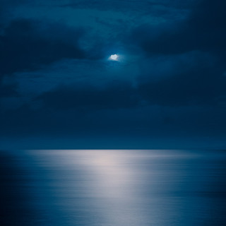 Rising Moon, Maui, Hawaii, 2011