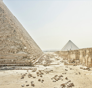 Giza Plateau, Giza, Egypt, 2018