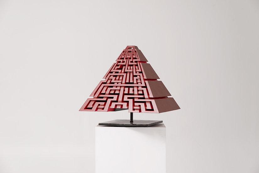 Red Pyramid, 2017 (angle 8)