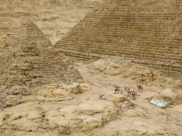 Khufu & Menkaure Pyramids Giza, Nikkō, Tochigi, Japan, 2013