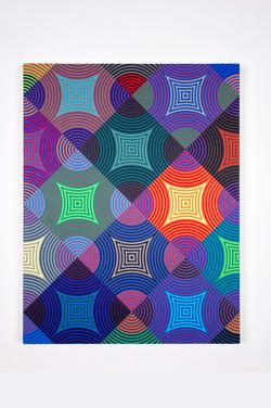 ALeach_AR Circle 16_no1_2016_33x25_5in_acrylic on canvas