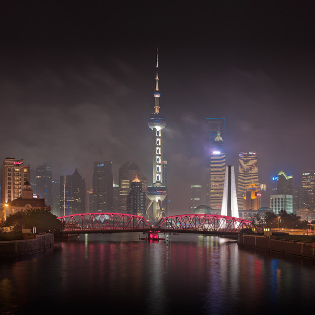 Shanghai Night II, Shanghai China, 2011