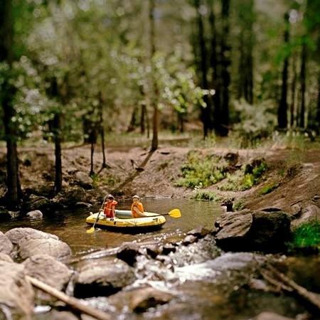 Kids In Raft