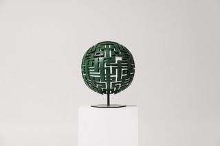 Green Sphere, 2017