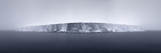 Giant Tabular Iceberg in Fog