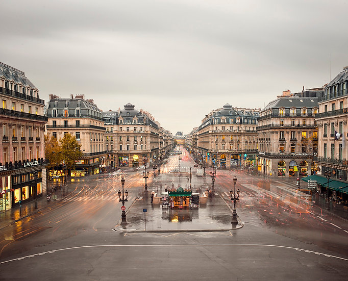 Place de I'Opera, Paris, France, 2012