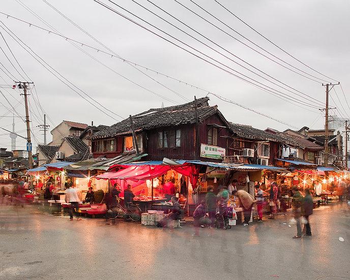 Night Market, Old Shanghai, China,2011