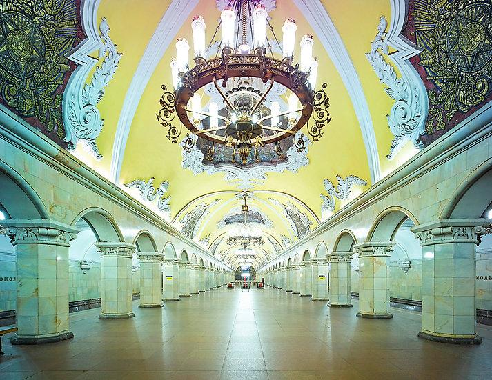 Komsomolskaya, Metro Station, Moscow, Russia, 2015