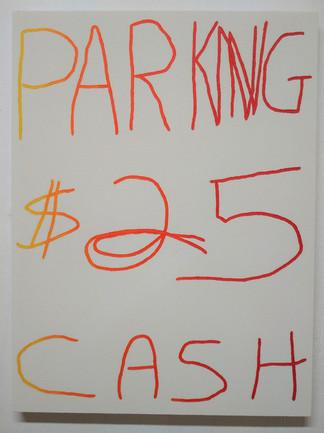 """""""Cash Parking No. 2"""" 2018"""