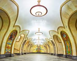 Novoslobodskaya Station, Moscoa, 2015