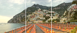 Positano (Triptych), Amalfi Coast, Italy, 2016 copy