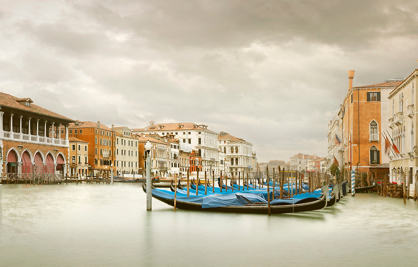Gondola Station III, Grand Canal, Venice, IT