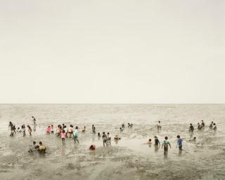 Mudflat, Ariake Sea, Kyushu, Japan, 2010
