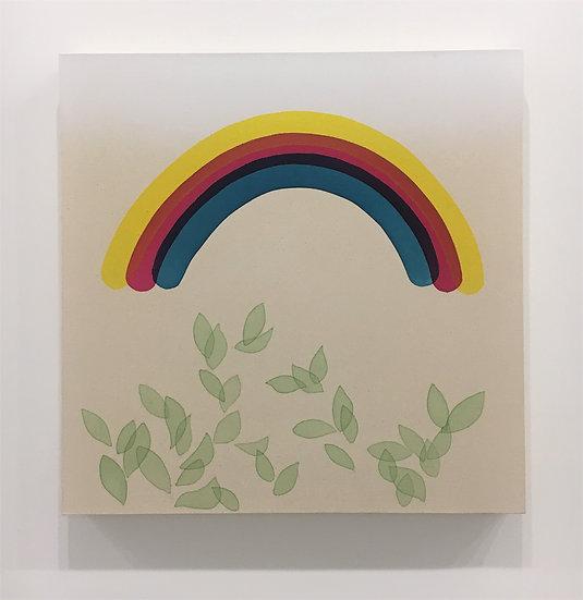 Rainbow with Vegetation
