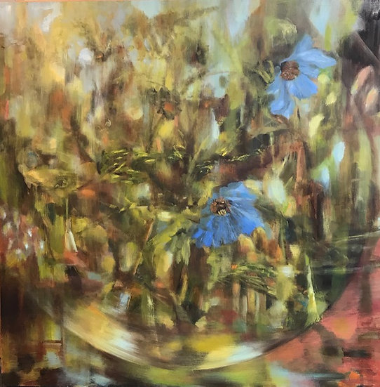 "Barbara Milne ""Blue Poppies"", 2020"