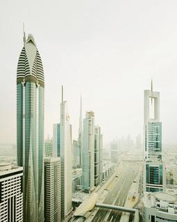 Dubai, Sheikh Zayed Road, UAE, 2009