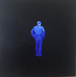 """Paul deGroot """"Blue Figure"""""""