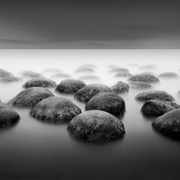 Bowling Ball Beach, Japan