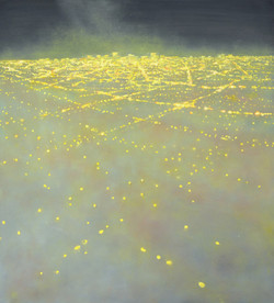 BEACON # 8, oil on canvas, 2013, 42 x 38 inches