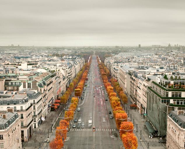 Avenue des Champs-Elyses, Paris, France 2012