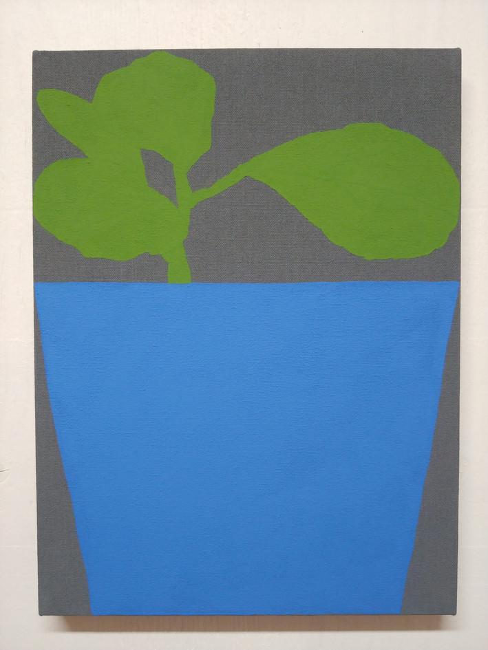 """Blue Pot"", 2020"