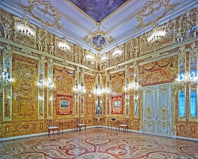 Amber Room, Catherine Palace, Pushkin, Russia 2015