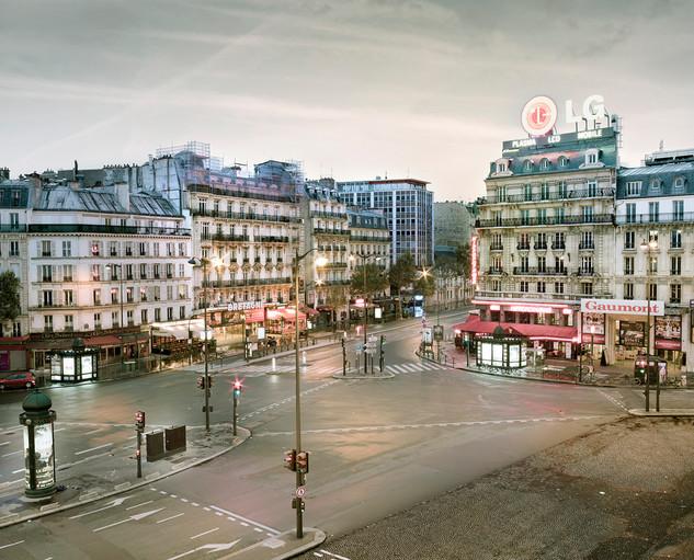Montparnasse as Dawn, Paris, France
