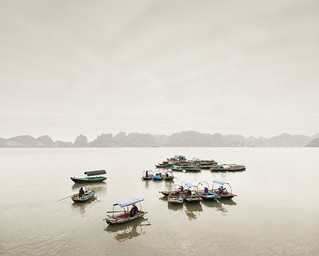 Water Taxis, Vinh Ha Long, Vietnam 2012