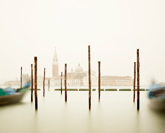 San Giorgio Maggiore with Gondola Station, Venice, IT