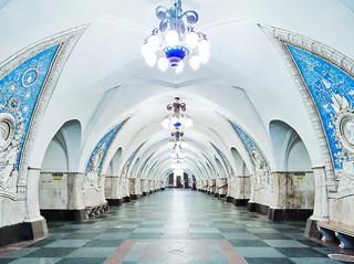 Taganskaya Metro Station, Moscow. Russia 2015