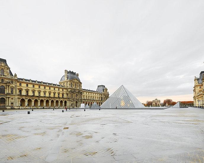 Parisian Pyramids, Louvre, Paris, FR, 2018