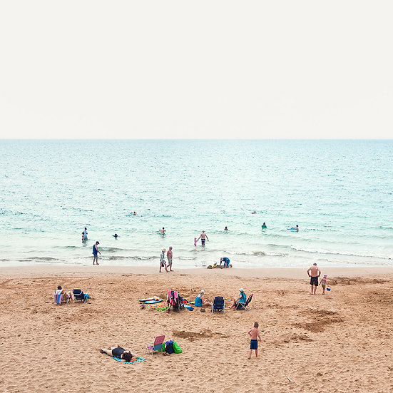 "Beach Day, Maui, Hawaii, 2011"""