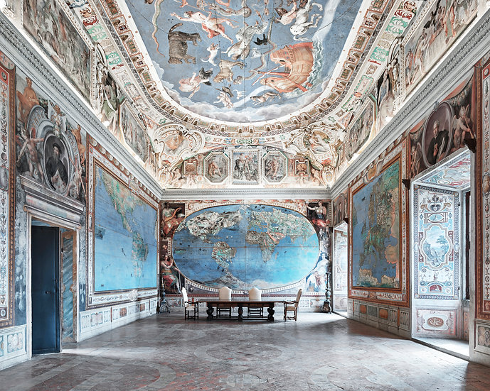 Map Room, Caprarola, Italy, 2016