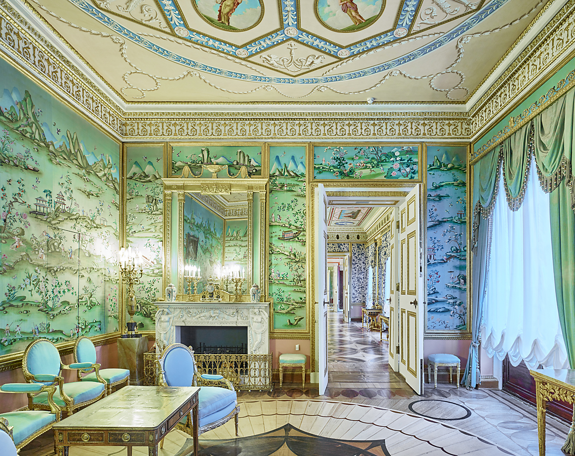 Chinese Drawing-Room, Catherine Palace, Pushkin, Russia, 2015