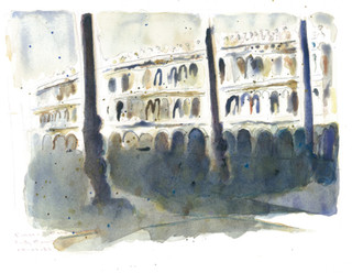 """Piazza San Marco, Early Morning"""" 1989"""