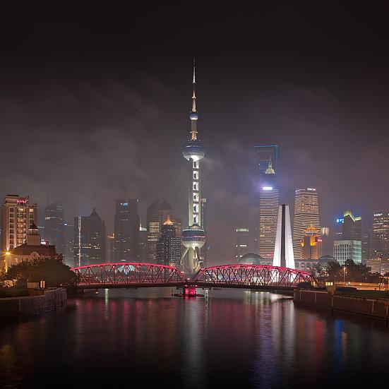 Shanghai Night II, Shanghai China, 2011, 2011